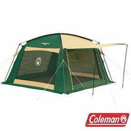 Coleman 4-5人網屋 CM-1530J 露營|客廳帳