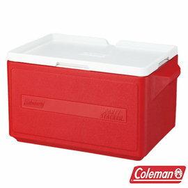 桃源戶外 Coleman 31L 置物型冰桶 CM-1329J 紅 露營│戶外