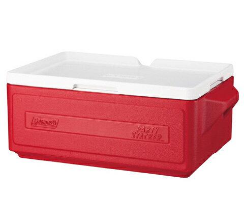 Coleman 23.5L 置物型冰桶 CM-1325 紅(原台中秀山莊)