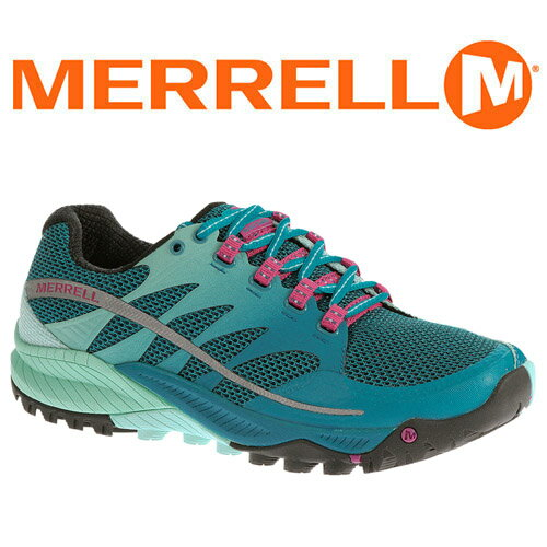 Merrell ALL OUT CHARGE 女輕量越野跑鞋 海藍 03960