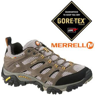 美國 MERRELL 男 MOAB GORE-TEX 戶外多功能鞋 87107 防水登山鞋│健行鞋│休閒鞋