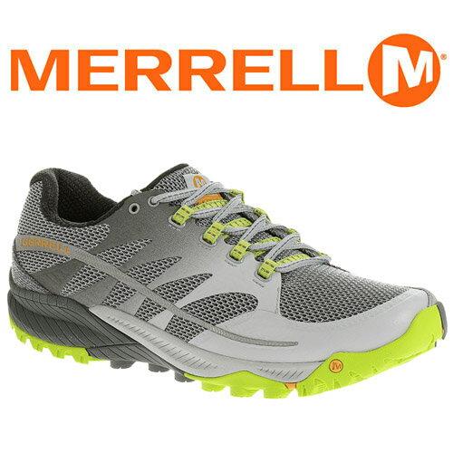 桃源戶外 Merrell ALL OUT CHARGE 男輕量越野跑鞋 灰/綠 03951