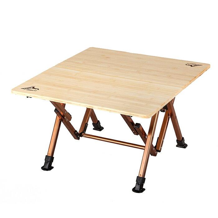 戶外竹板桌(小) 可調節桌子高度 308992490 (原台中秀山莊)