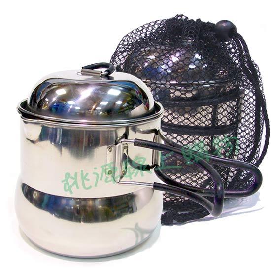 文樑 不鏽鋼茶壺鍋 100% 台灣製造 #2005 (原台中秀山莊)