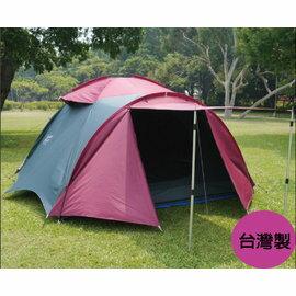 桃源戶外 Polar Star 6-7人豪華家庭帳【銀膠抗UV、台灣製造】帳篷|露營用品 P13743