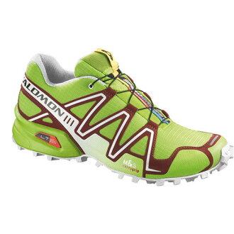 Salomon SPEEDCROSS 3 男輕量越野鞋 螢光綠 356747 (原台中秀山莊)