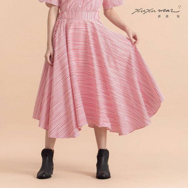 許許兒:許許兒∵迷幻蘑菇流線條紋造型圓裙