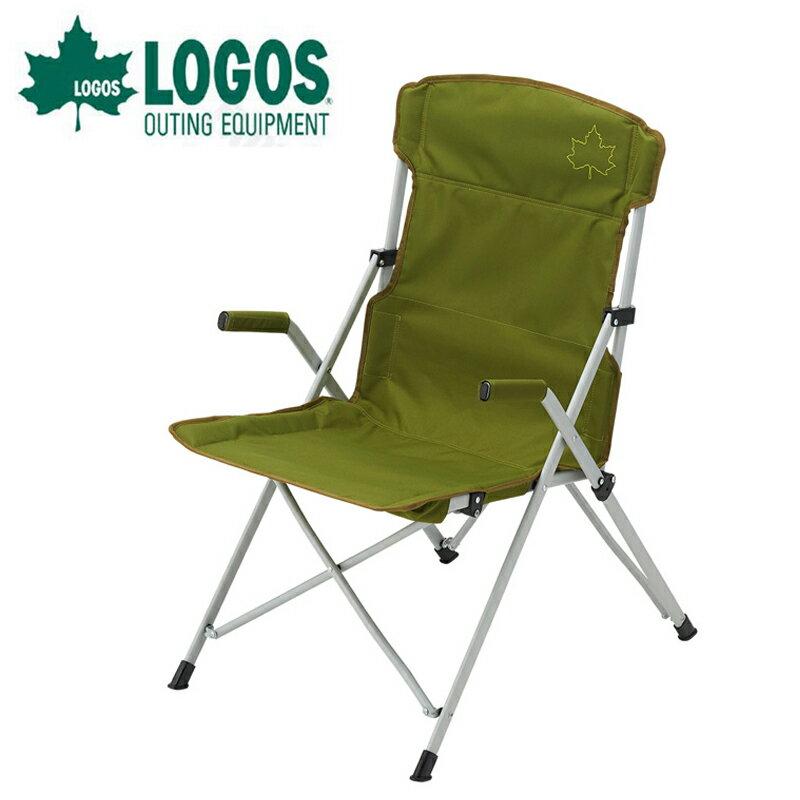 【露營趣】中和安坑 LOGOS LG73174033 Neos餐椅 綠 休閒椅 摺疊椅 高背椅 導演椅 折合椅
