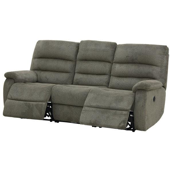 ◎布質3人用電動可躺式沙發 BELIEVER3 804 MGY NITORI宜得利家居 6