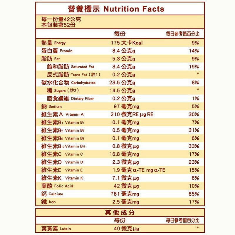*健人館*  全新效期! 克寧高鈣全家人營養配方奶粉 2.2kg