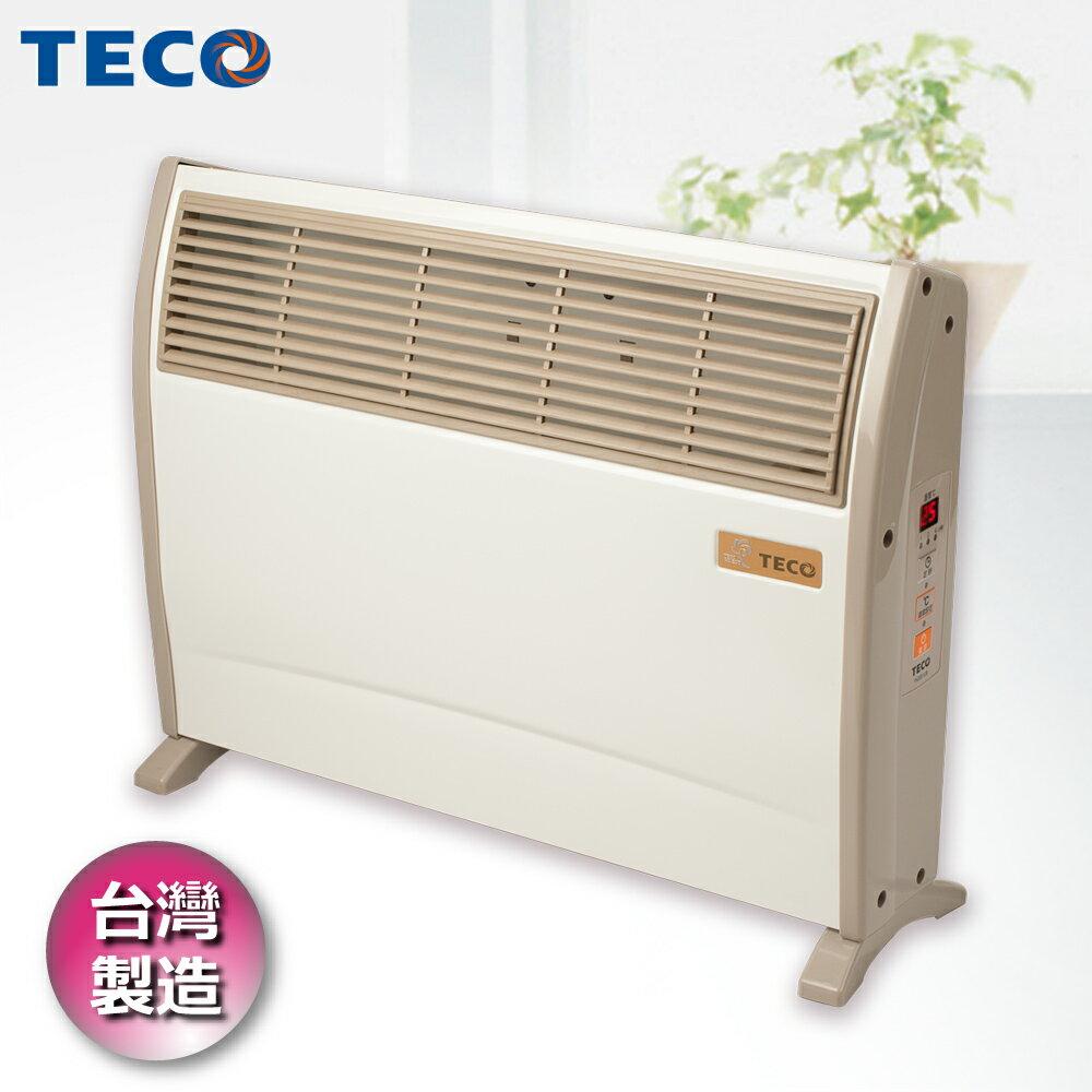 【TECO東元】浴室臥房兩用防潑水微電腦電暖器 YN2001CB