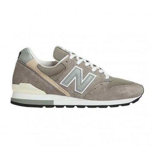 NewBalance996男鞋女鞋休閒慢跑美國製皮革吸震經典反光灰【運動世界】M996