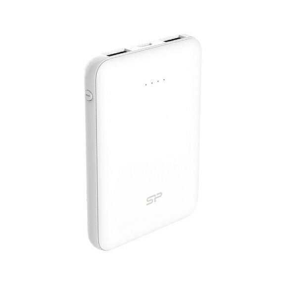 廣穎 Cell C100 2.1A 雙埠USB快速充電 10000mAh 行動電源 白