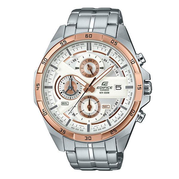 CASIO卡西歐EDIFICEEFR-556DB-7A三針三眼時尚賽車腕錶48.7mm