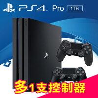 索尼推薦到SONY PS4 PRO 1TB 主機(CUH-7000系列) 黑+多1支控制器(黑色)【三井3C】