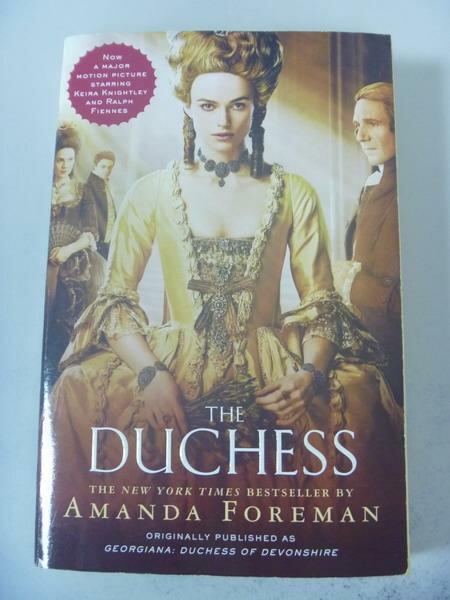 ~書寶 書T2/原文小說_IBB~The Duchess_Foreman Amanda