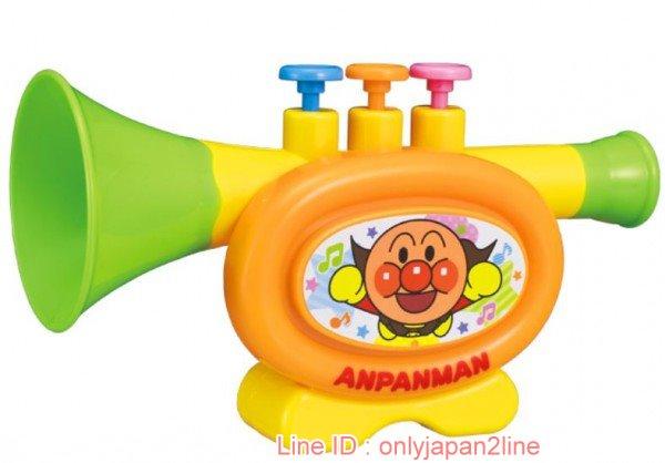 【真愛日本】17021000019喇叭玩具-ANP   電視卡通 麵包超人 細菌人 兒童玩具 正品 限量