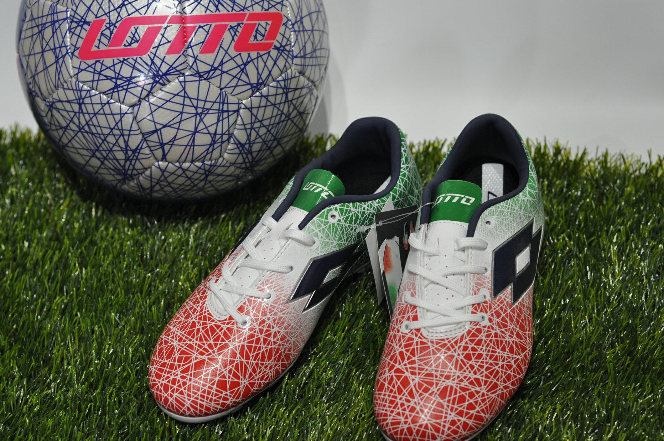【登瑞體育】LOTTO 頂級兒童足球鞋 LTS7163-鞋6折