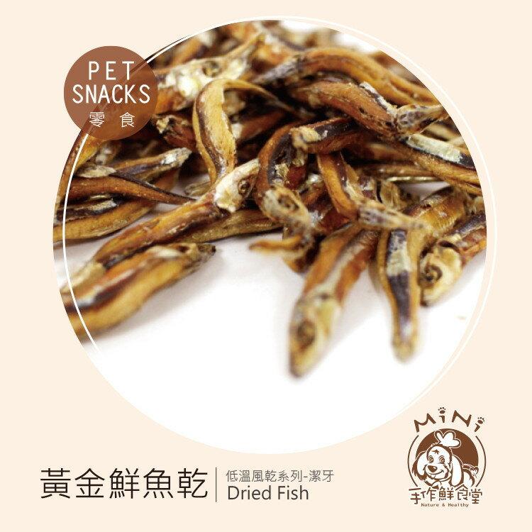 【Mini 手作鮮食堂】黃金鮮魚乾 Dried Fish 肉乾 零食 精裝禮盒