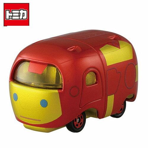 【日本正版】TOMICA 多美小汽車 TSUM TSUM 漫威英雄 鋼鐵人 玩具車 Iron Man MARVEL - 872153
