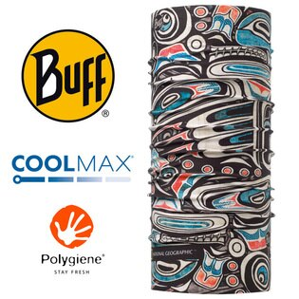 【Buff西班牙】國家地理頻道魔術頭巾系列COOLMAX抗UV頭巾-深海文明/BF117129