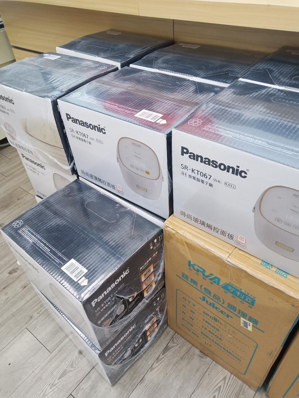 雙11特賣.國際牌-Panasonic IH電子鍋SR-KT067-全省售後服務-出清特價24小時快速到貨我最殺特價中3999=免運費