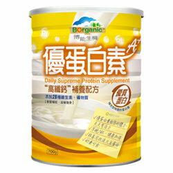 博能生機 優蛋白素A+高纖鈣補養配方 700g 奶素 非基因改良大豆