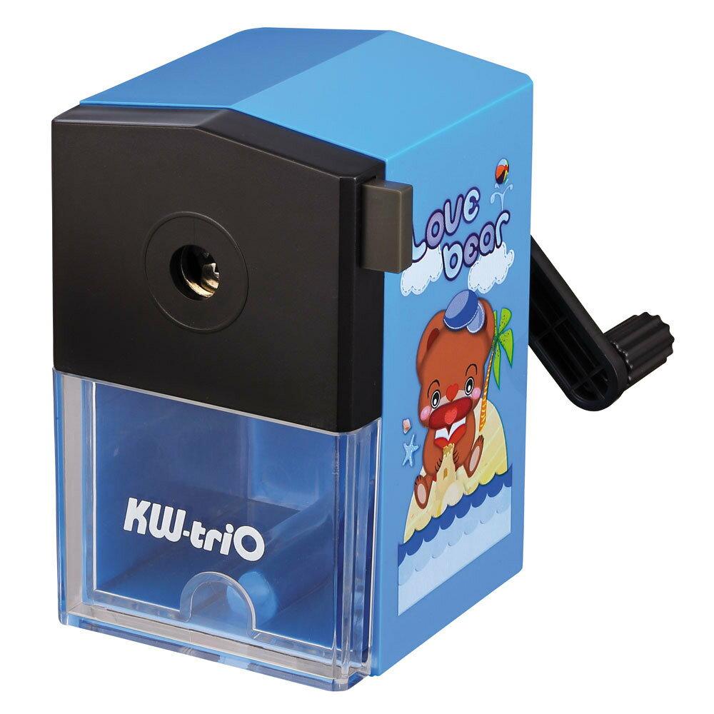 KW-triO 可得優 030KB 愛心熊 削筆機 削鉛筆機 (小型) (顏色隨機出貨)