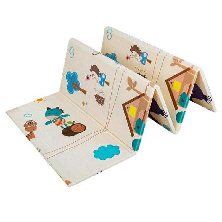 爬行墊加厚嬰兒客廳家用爬爬墊可折疊拼接泡沫地墊兒童墊子