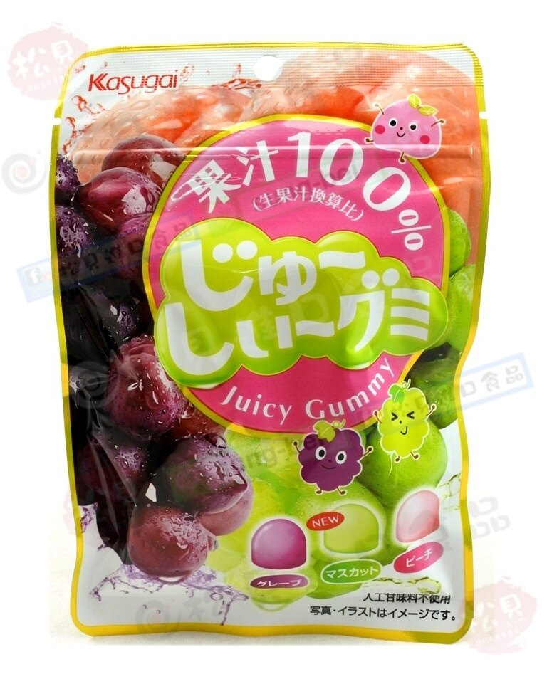 《松貝》春日井水果QQ軟糖53g【4901326040267】cc128