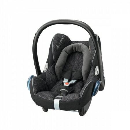 【淘氣寶寶】荷蘭 Maxi Cosi Cabriofix 提籃汽座安全提籃/座椅【雪花黑】
