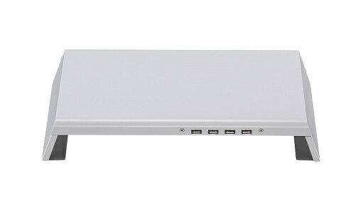 【鋭冠】CMS-23四埠USB2.0小型電腦架電腦螢幕增高架鍵盤收納