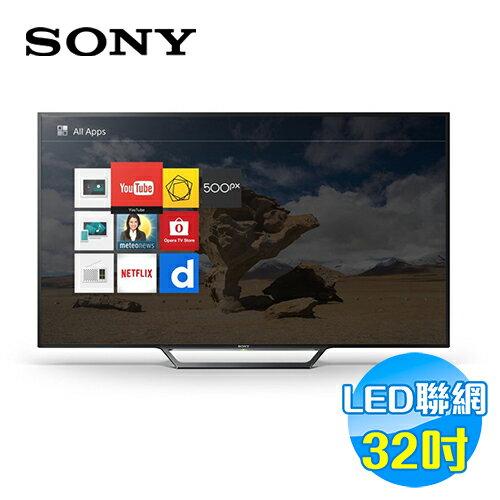 SONY  32吋 智慧型高畫質液晶電視 KDL-32W600D