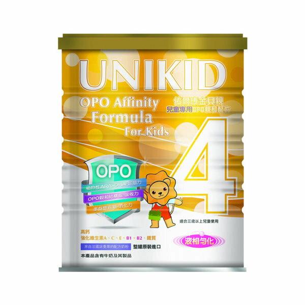 UNIKID 佑爾康金貝親 兒童專用OPO親和配方(4號)900g