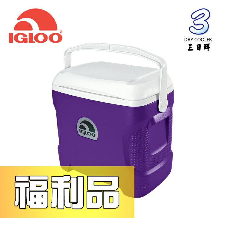 【福利品出清】IgLoo CONTOUR系列30QT冰桶49479 紫色 / 城市綠洲專賣 (保鮮保冷、美國製造、露營、釣魚)