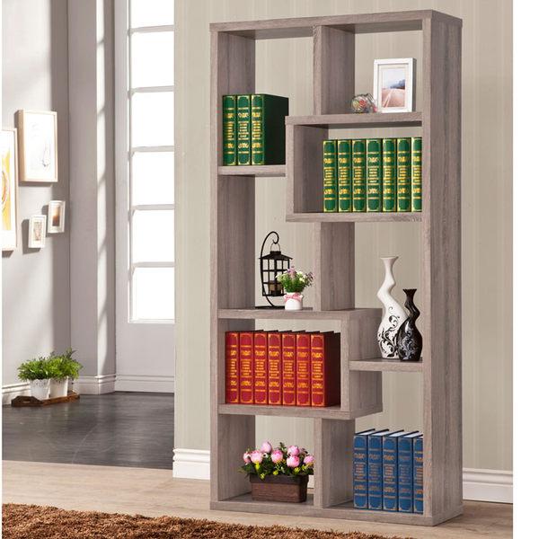 厚板造型隔間櫃 (深木紋色 ) 書櫃 / 置物櫃 / 收納櫃 & DIY組合傢俱
