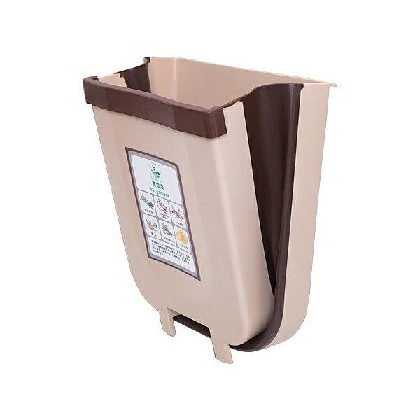 可折疊掛式垃圾桶(1入) 顏色隨機出貨【小三美日】◢D021486