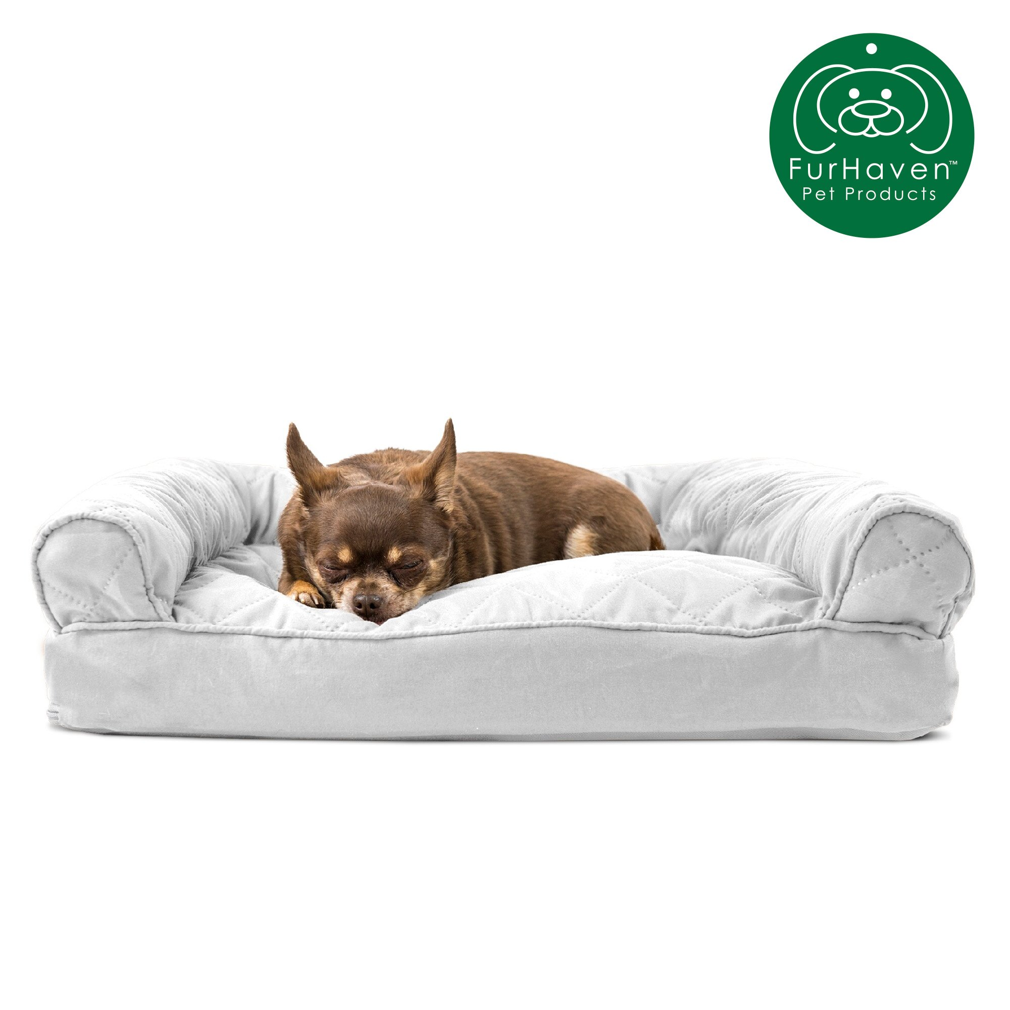 Phenomenal Furhaven Pet Dog Bed Quilted Pillow Sofa Style Couch Pet Bed For Dogs Cats Available In Multiple Colors Sizes Gmtry Best Dining Table And Chair Ideas Images Gmtryco