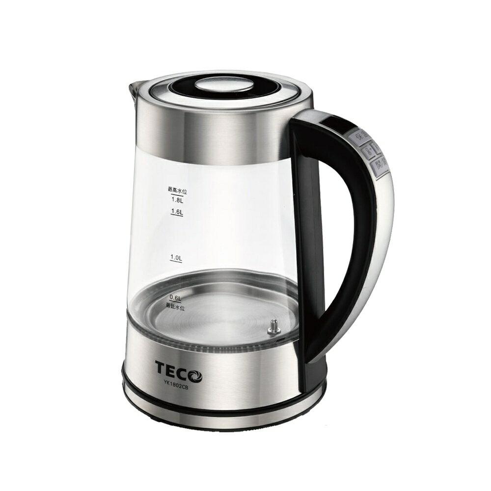 淘禮網   TECO東元 1.8L智能溫控快煮壺 YK1802CB
