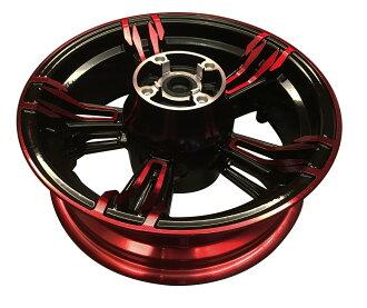 【改裝王國】 TWPO HONDA MSX125 五爪雙色鋁合金輪框 前,後輪輪框