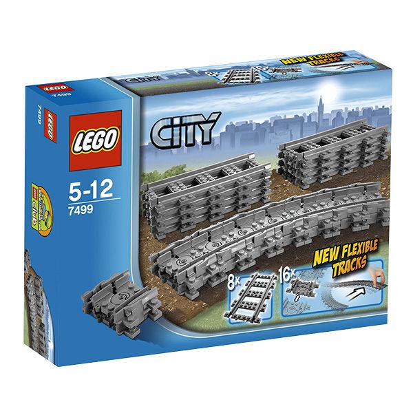 樂高積木LEGO《LT7499》CITY城市系列-靈活的軌道
