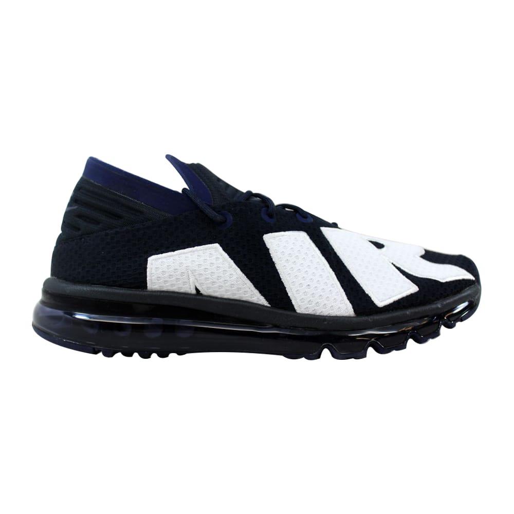 193966d6cb10 Kixrx  Nike Air Max Flair Dark Obsidian White 942236-400 Men s Size ...
