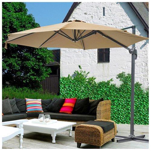 YescomUSA Rakuten Ft Hanging Offset Roma Outdoor Patio - Outdoor patio umbrellas