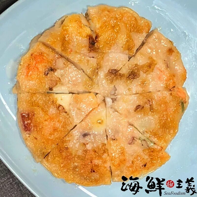 海鮮蝦餅(150g/片)【海鮮主義】●添加西芹!吃起來清爽,口感有層次 ●滿滿的蝦仁與魷魚腳、小卷塊