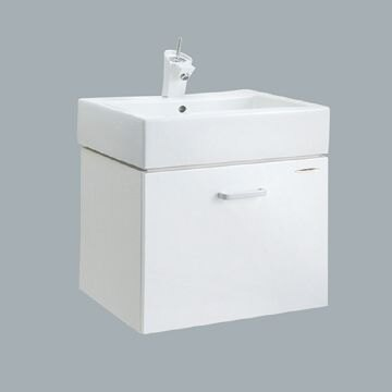HCG伊頓臉盆浴櫃/不含水龍頭/L400SAdb+LCS400B