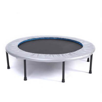 【帶扶手折疊家用蹦床-直徑121cm-1套/組】無護網兒童室內戶外跳跳床-5670703