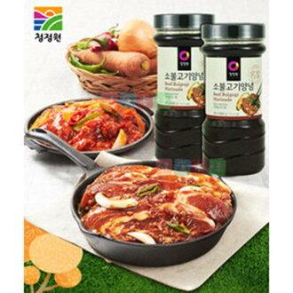 韓式頂級水梨蘋果燒醃烤醬 烤肉醬 燒肉醬 - 原味/辣味 * 1 罐 (CJ&韓式大象兩品牌隨機出貨) 樂活生活館