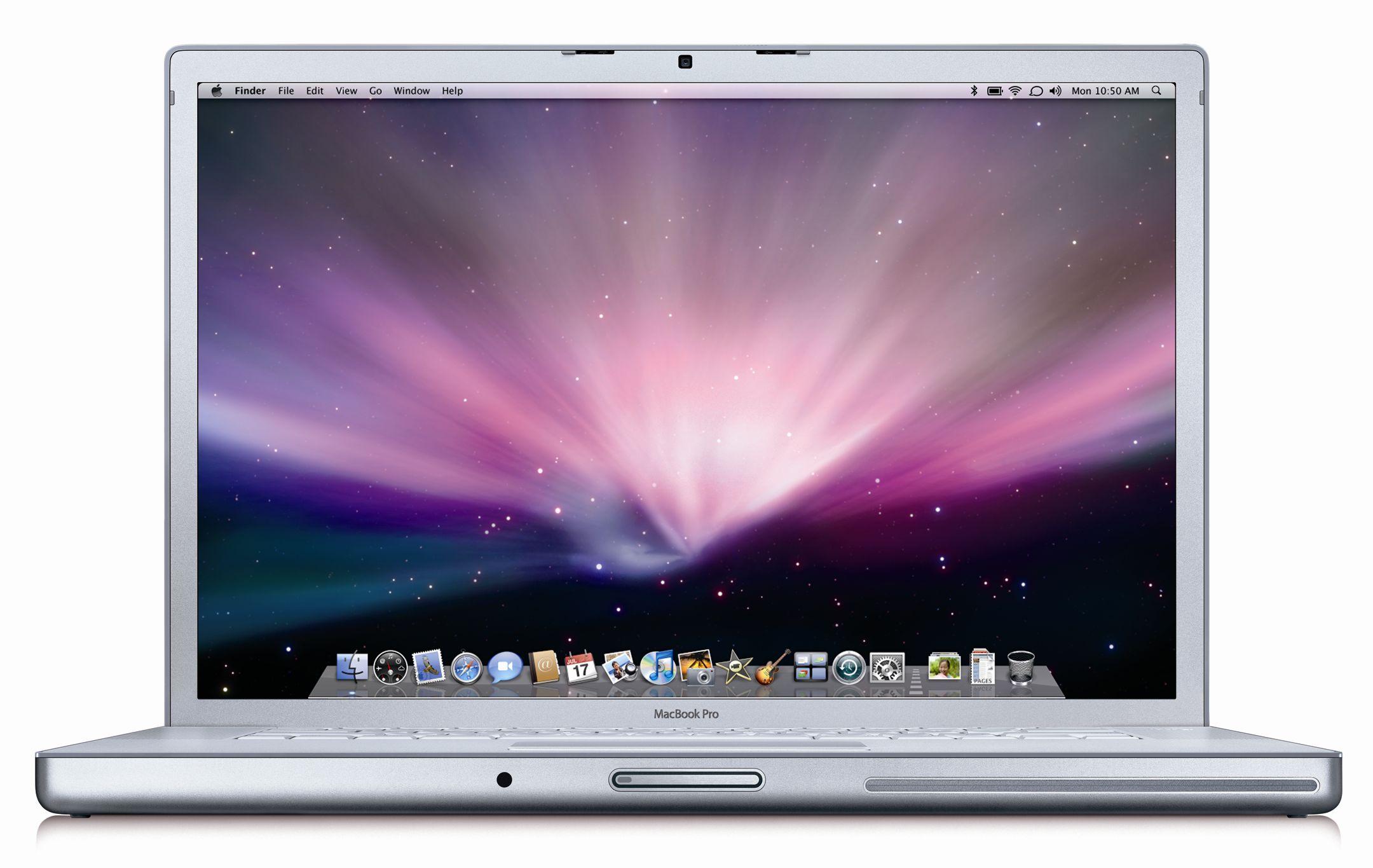 Refurbished Apple A Grade Macbook Pro 17-inch Laptop (Antiglare) 2 5GHZ  Core 2 Duo (Early 2008) MB166LL/A 320 GB HD 4 GB Memory 1680x1050 Display  Mac