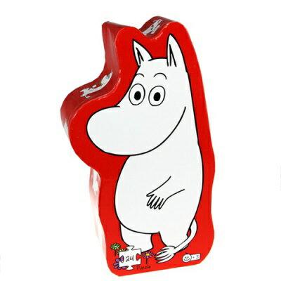 ※北歐丹麥barbo toys Moomin拼圖-嚕嚕米-24片