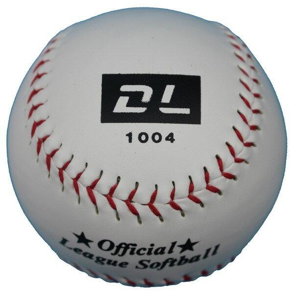 DL大壘球1004 PVC縫線壘球 MIT製/一個入{定150} DL壘球 標準壘球 慢速壘球~泉